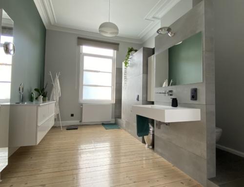 Rénovation d'une salle de bain à Bruxelles